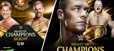 wwe night of champions 2014 results