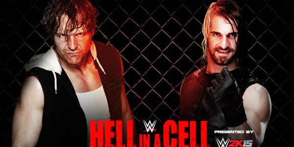 dean ambrose vs seth rollins hell in a cell