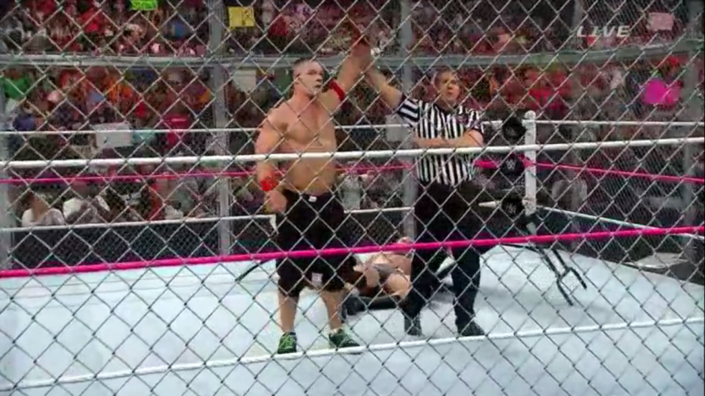 john cena won hell in a cell
