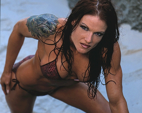 You were Boob diva lita wwe visible
