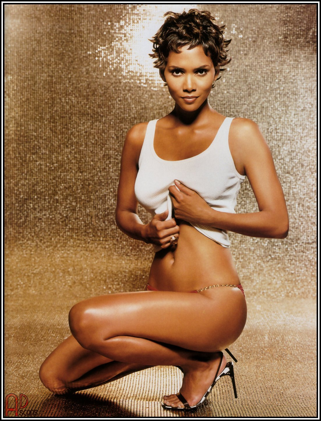 HALLE BERRY WHITE TOP