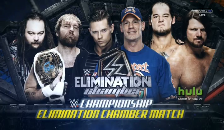 Watch WWE Elimination Chamber 2017 Free