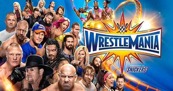 Watch WWE Wrestlemania 33 Full Show Online Free
