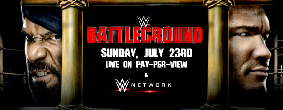 Watch WWE Battleground 2017 Online Free