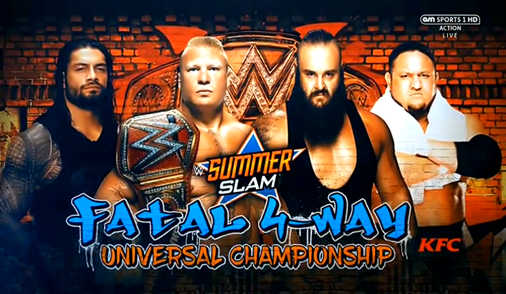 Watch WWE SummerSlam 2017 Free